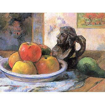 Paul Gauguin - Apples and Pear Poster Print Giclee