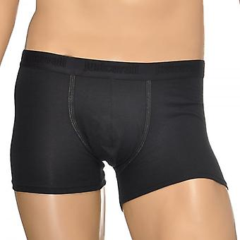 Just Cavalli Cotton Stretch Boxer Brief, Black, X Large