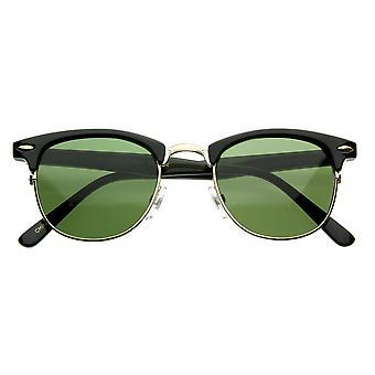 Винтажные половины кадра полу ОПРАВЫ рога оправе стиль классический оптический RX очки