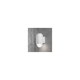 Konstsmide Sassari Pill Shaped White Wall Light Washer