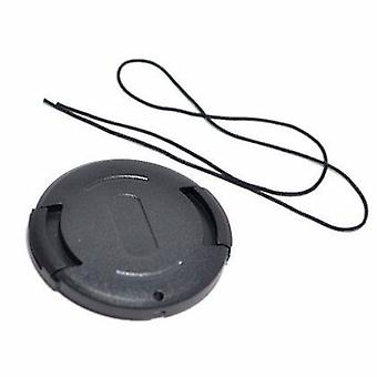JJC 30mm Plastic Snap-on Lens Cap with lens cap keeper for Cameras and Camcorders