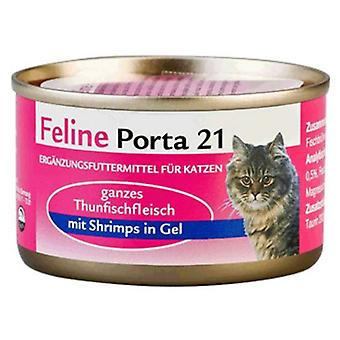 Porta21 Tuna / Shrimp (Cats , Cat Food , Wet Food)