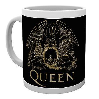 Caneca de crista de rainha