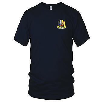 US Army - 460th Chemical Brigade Embroidered Patch - Mens T Shirt