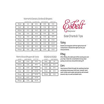 Esbelt ES5750 レディース ブラック事務所/媒体制御痩身キャミソール トップを形成