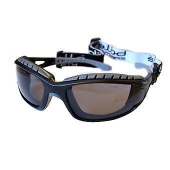 Bolle (Pack Of 10) Tracker Ii Safety Glasses Pc Clear/Smoke/Grey Lens - Botrac
