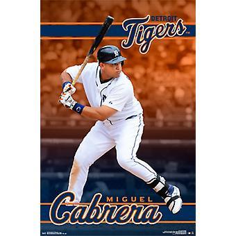 Detroit Tigers - Miguel Cabrera 16 Poster Poster Print