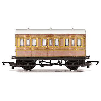 Calibrador de Hornby ferrocarril Lner 4 rueda coche