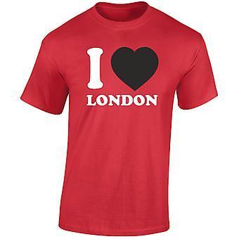 I Love London heren T-Shirt 10 kleuren (S-3XL) door swagwear