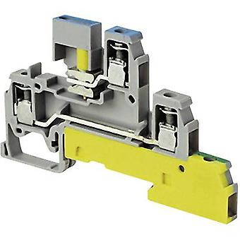 Industrial terminal block 6 mm Screws Configuration: Terre, N, L