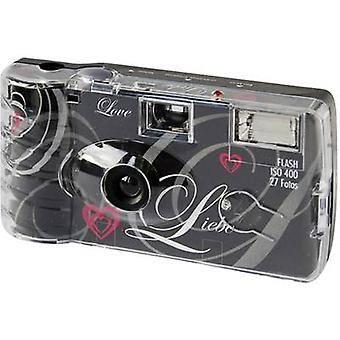 Disposable camera Topshot Love Black 1 pc(s) Built-in flash
