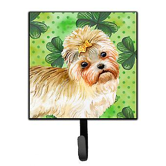 Carolines Treasures  BB9842SH4 Morkie St Patrick's Leash or Key Holder
