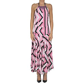 Elena Ferrè women's MCGLVS003231E multicolour polyester dress