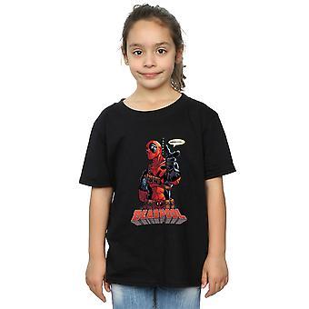 Marvel Girls Deadpool Hey You T-Shirt