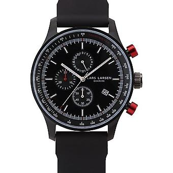 Lars Larsen watches mens watch chronograph storm steel collection 133CBBS