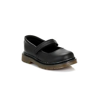 Dr. Martens Infant Black Tully Softy Leather Shoes