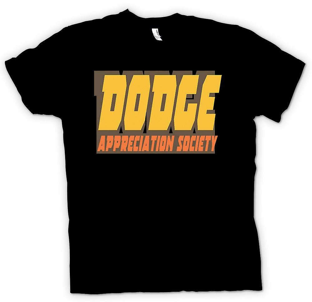 Womens T-shirt - Dodge Appreciation Society