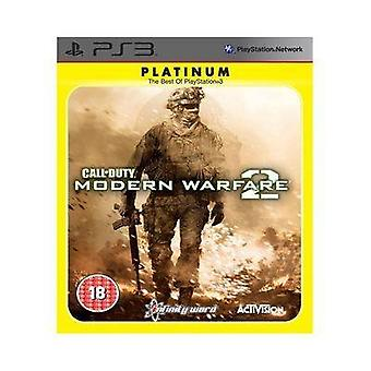 Call of Duty Modern Warfare 2 - Platinum (PS3) - Factory Sealed