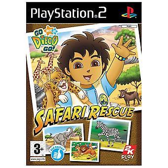Go Diego Go! Safari Rescue (PS2)