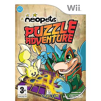 Neopets Puzzle Adventure (Nintendo Wii) - Factory Sealed