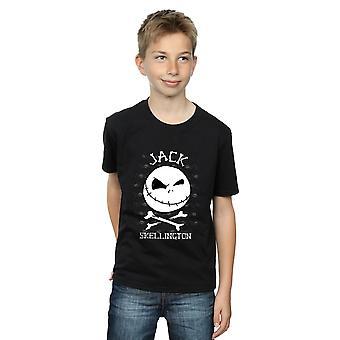 Disney Boys Nightmare Before Christmas Jack Face T-Shirt
