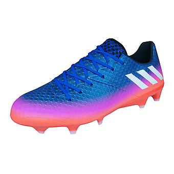 adidas Messi 16.1 FG Mens Football Boots / Cleats - Blue and Orange