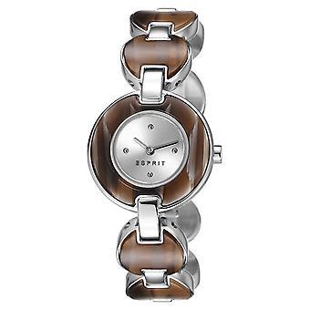 ESPRIT Дамы лагуны черепаха часы-браслет из нержавеющей стали серебряный ES106572002