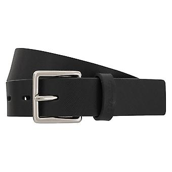 Strellson belts men's belts leather belt blue 1974
