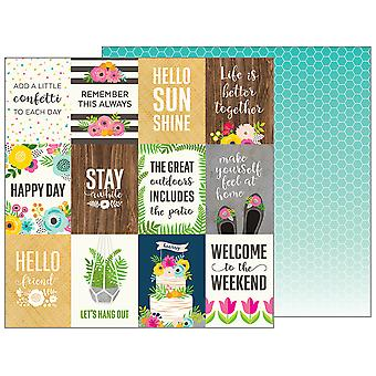 Patio Party Double-Sided Cardstock 12