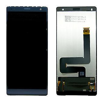 Sony Display LCD Komplett Einheit für Xperia XZ2 H8266 Grün Ersatzteil Neu