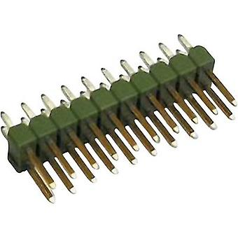 TE Connectivity Pin strip (standard) No. of rows: 2 Pins per row: 3 826942-3 1 pc(s)