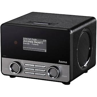 Hama IR110 Internet Table top radio AUX, Internet radio, USB Spotify Black