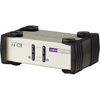 ATEN CS82U-AT 2 puertos KVM conmutador VGA USB, PS/2 2048 x 1536 pix