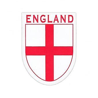 جاك الاتحاد ارتداء جورج St إنكلترا عبر ملصق الدرع