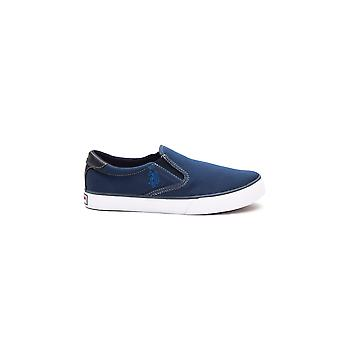 Sneakers Navy Blue Leroy Us Polo Man