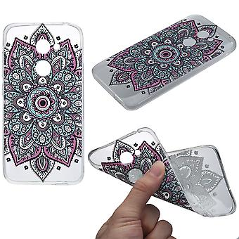 Henna cover for Alcatel A3 case protective cover silicone colorful tattoo