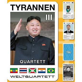 Tyrant III Quartet part 3 dictator Quartet card game
