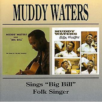 Muddy Waters - USA di Muddy Waters canta Big Bill/cantante Folk [CD] importare