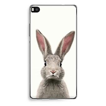 Huawei Ascend P8 Transparent Case (Soft) - Daisy
