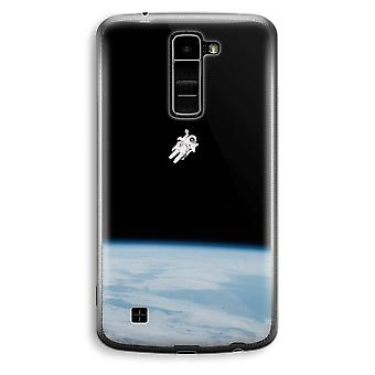 LG K10 (2016) Transparent Case (Soft) - Alone in Space