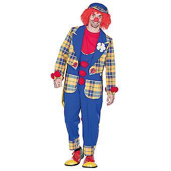 Clown dress Plaid suit Clownkostüm Clownjacke costume for men