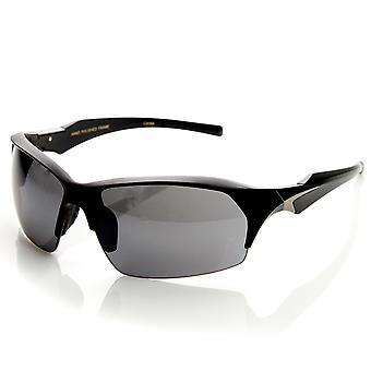 High Quality TR-90 Half Frame Semi-Rimless Sports Sunglasses