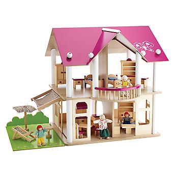 Maison de poupée rose Eichhorn