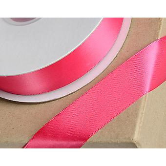 3mm Fuchsia Pink Satin Ribbon for Crafts - 25m | Ribbons & Bows for Crafts