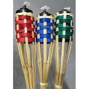 Tuinfakkel bamboe 120cm kleur