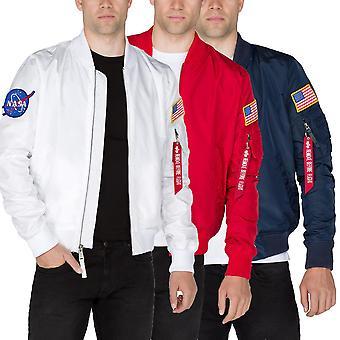 Alpha industries MA-1 jacket TT NASA reversible