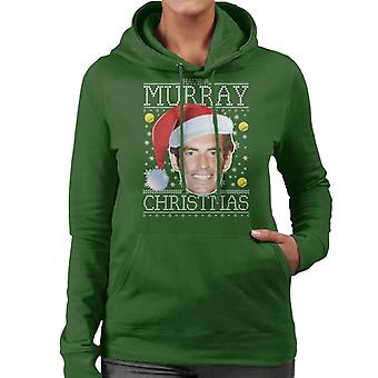 Have A Andy Murray Christmas Knit Women's Hooded Sweatshirt