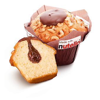 Nutella Schokoladen-Muffins gefroren