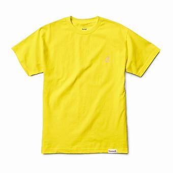 Diamond Supply Co Mini Un Polo T-shirt Yellow