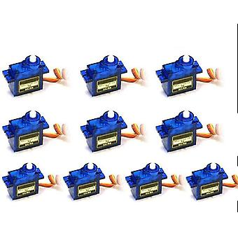 10 PC SG90 9 g Micro Servo motor for RC fly helikopter båt bil 250 450 for RC Robot